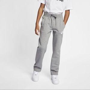 Nike Sportswear Club Fleece Big Kids Open Hem Pants Xlarge